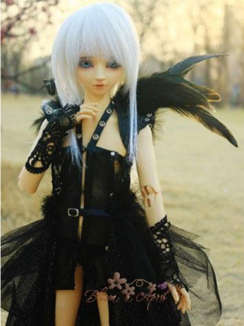 [Limited Edition]1/3 1/4 70cm Clothes Boy/Girl Black Suit Outfits for MSD/SD/70CM Ball-jointed Doll