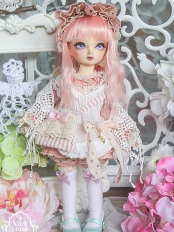 1/6 Clothes Girl Pink Dress...