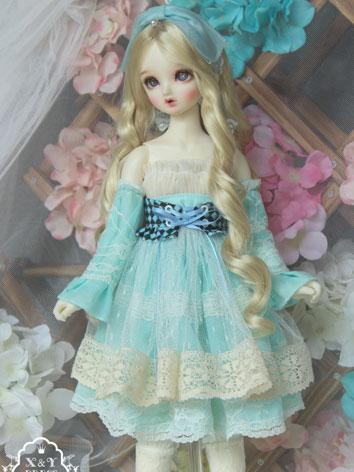 1/3 Clothes Girl Skyblue Dr...