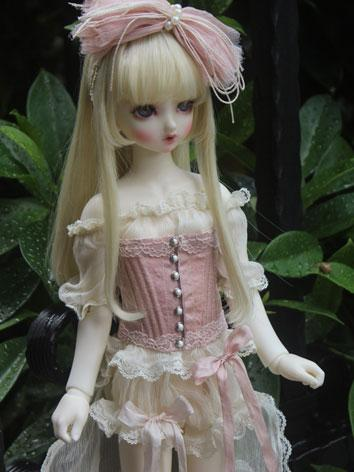 1/3 1/4 Clothes Girl Pink D...