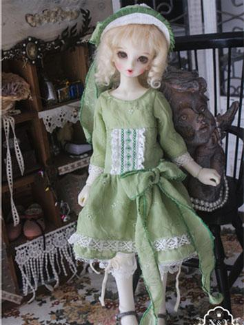 1/3 1/4 Clothes Girl Green ...