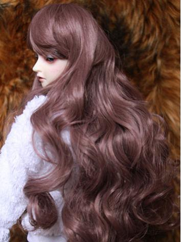 BJD Female Purple Curly Hai...