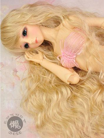 BJD Long Curly Hair Wig for...
