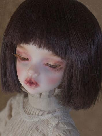 BJD Wig Female Chocolate Sh...