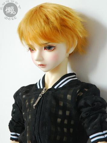 BJD Wig Male Short Hair Wig for SD/MSD Size Ball-jointed Doll