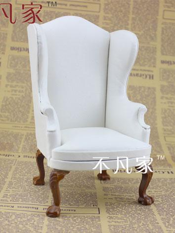 1/6 BJD White Chair for YSD...