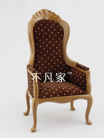 1/6 BJD Brown Chair for YSD...