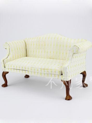 1/6 BJD Beige Long Chair fo...