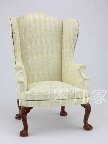1/6 BJD Beige Chair for YSD...