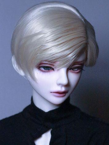 BJD Wig Boy Silver/Chocolate/Light Gold Short Hair Wig for SD/MSD/YSD Size Ball-jointed Doll