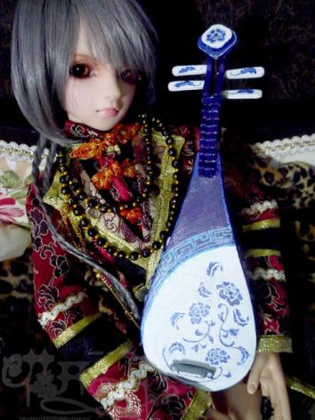 BJD 1/3 1/4 Instrument Pipa for SD/MSD Ball-jointed