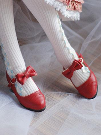 1/4 Girl Sweet Red Shoes fo...