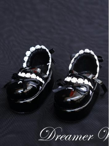 1/6 1/4 Shoes Girl Black Sh...