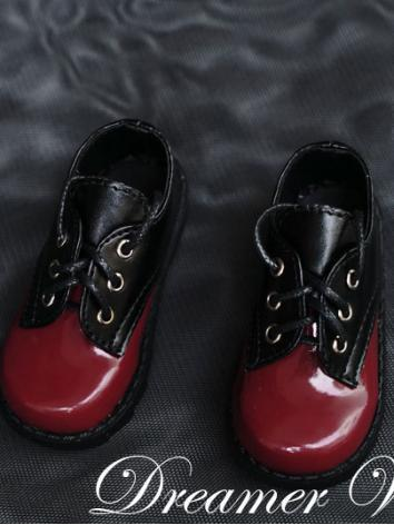 1/3 1/4 Shoes Boy Red&Black...