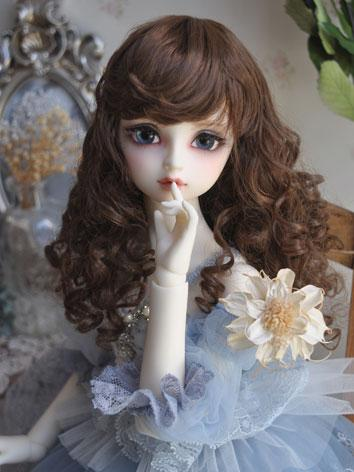 1/3 1/4 1/6 Wig Girl Brown/...