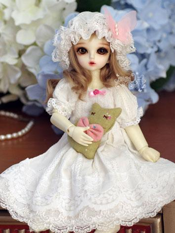 1/6 Clothes Girl White Slee...