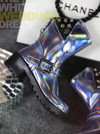 BJD Shoes Laser blue Short ...