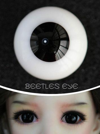 Eyes 12mm/14mm/16mm BLACK Eyeballs BP-01 for BJD (Ball-jointed Doll)