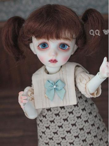 BJD Wig Cute Girl HAIR Wig ...