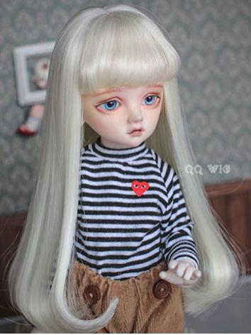 BJD Wig Female Straight HAIR Wig for SD/MSD/YOSD Size Ball-jointed Doll
