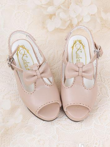 Bjd 1/3 Shoes Girl White/Be...