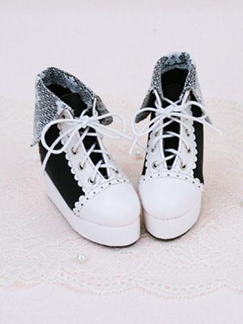 Bjd 1/3 Shoes Girl Sweet Bl...
