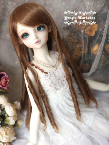 Girl Long Curly Hair 1/3 Wi...