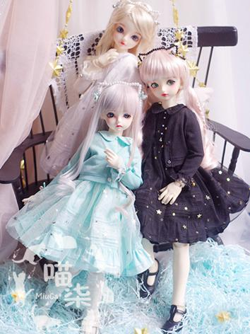 BJD 1/4 1/6 Clothes Girl Ca...