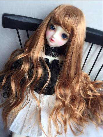 1/3 1/4 Wig Girl Gold/Brown...