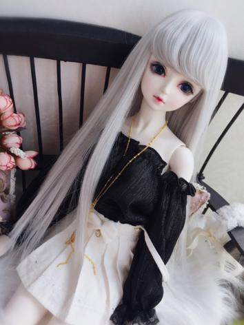 1/3 1/4 Wig Girl Long Strai...