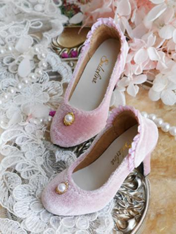 1/3 Girl Sweet Shoes High h...