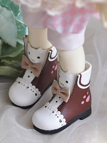 1/6 Girl/Boy Cute Shoes Pink/Blue/Black/Brown Shoes for YSD Ball-jointed Doll