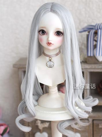 Girl Gold/Silver/Brown Curly Hair 1/3 1/4 1/6 Wig for SD/MSD/YSD Size Ball-jointed Doll