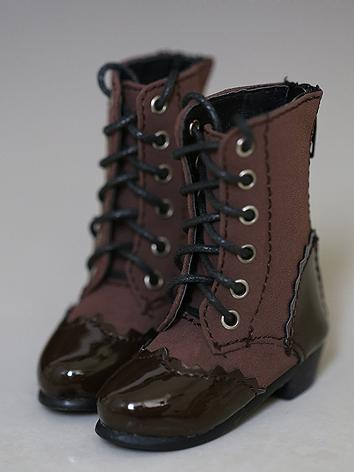 Bjd Brown Short Boots Shoes for SD/MSD Ball-jointed Doll