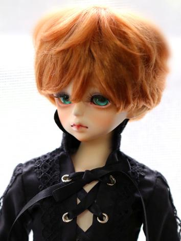 BJD 1/3 1/4 Wig Brown Short...