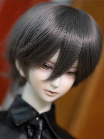 BJD 1/3 1/4 Wig Gray Short Hair for SD/MSD Size Doll Ball-jointed doll