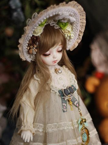 Bjd Clothes Beige Girl Dres...