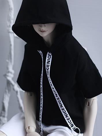 1/3 Boy Clothes Black T-shi...