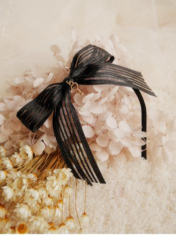 BJD Hair Decoration Black H...