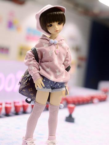 1/4 Clothes Girl/Boy Warm Suit for MSD Ball-jointed Doll