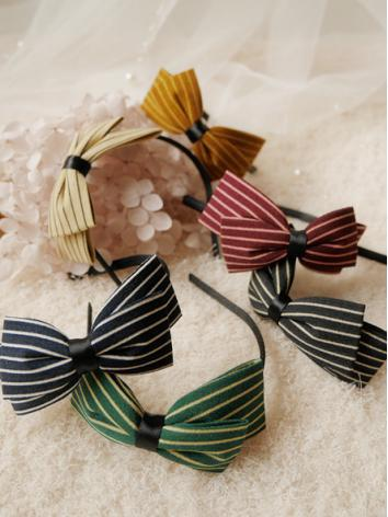BJD Hair Decoration Retro Stripe Hairband Stick for SD/MSD/YSD Ball-jointed doll