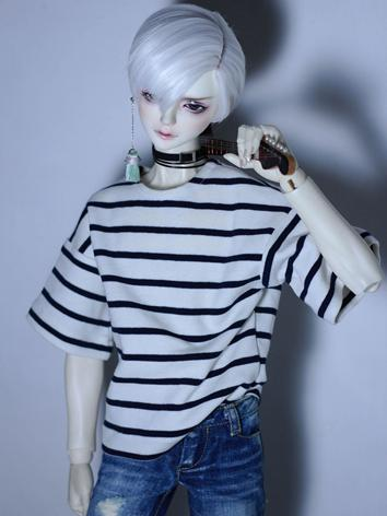 BJD Clothes Boy White/Green...