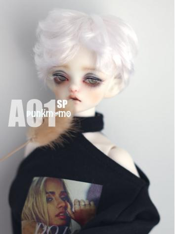 1/3 1/4 Wig Boy Short White...