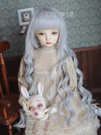 BJD Wig Female Brown/Gray L...