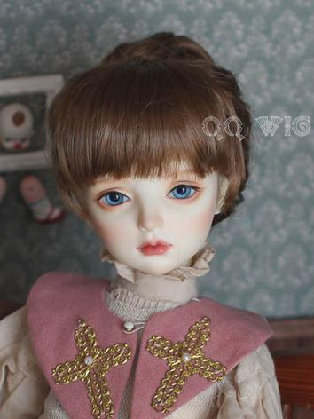 BJD Wig Female Brown Buns H...