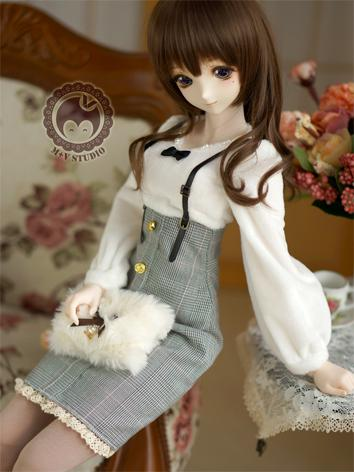 1/3 DD Clothes Girl Black G...