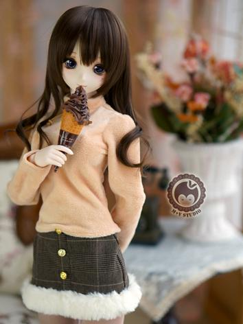 1/3 DD Clothes Girl Khaki/W...