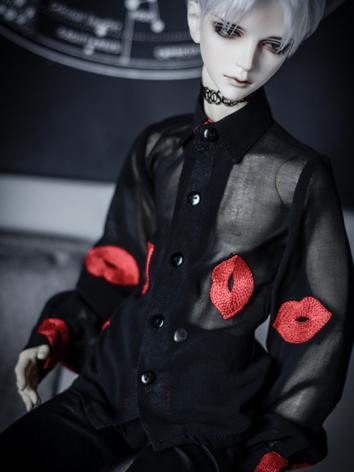1/3 70cm Boy/Girl Clothes Sexy Black Shirt A200 for SD/70cm Size Ball-jointed Doll