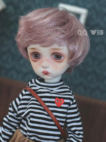 BJD Wig Boy Light Purple Sh...