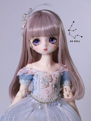BJD Wig 1/6 baby doll purpl...